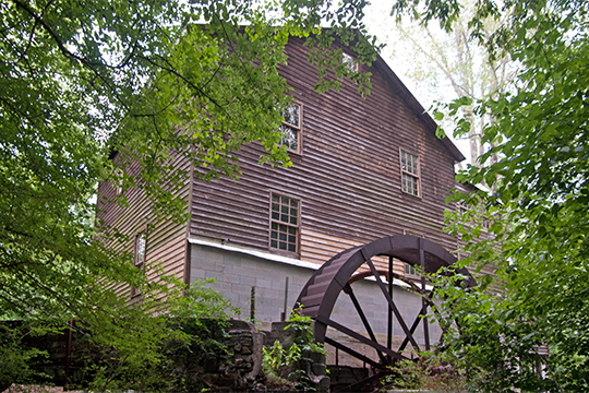 Alcovy Road Grist Mill, reeman's Mill), Civil War Era, 1564 Alcovy Road, Dacula, GA, National Register