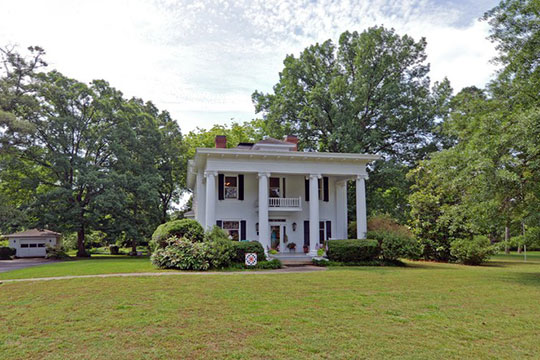 J. Pearl Jones House, ca. 1914, 401 Athens Street, Hartwell, GA., National Register