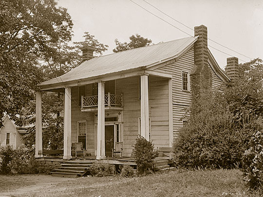 Ethridge-Stanton House, ca. 1836, 186 Lee Street, Jefferson, GA, Historic American Buildings Survey