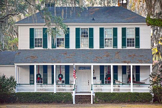 Bacon-Fraser House, ca. 1836, 208 East Court Street, Hinesville, GA, National Register