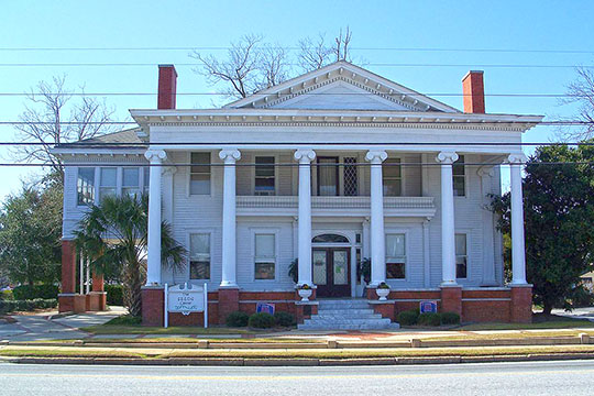 Barber-Pittman House, ca. 1915, 416 North Ashley Street, Valdosta, GA, National Register