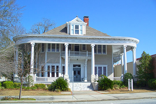 Converse-Dalton House, ca. 1902, 305 North Patterson Street, Valdosta, GA, National Register