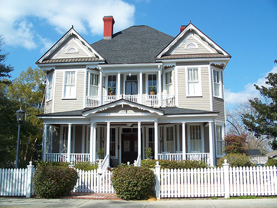 Home in the Fairview Historic District, Valdosta, GA, National Register