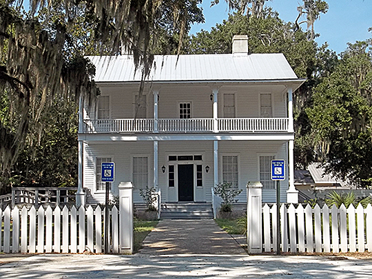 Historic Home, West Darien Historic District, Darien, GA, National Register