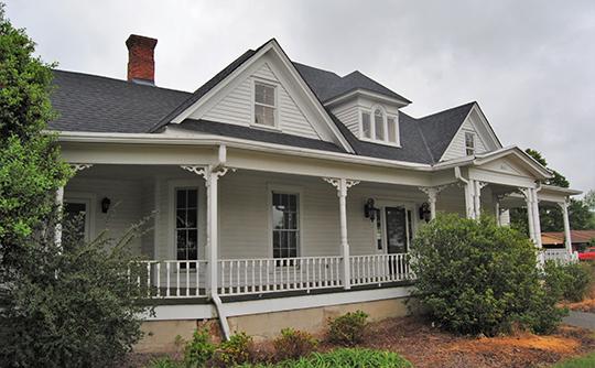 Abe Jones House, circa 1905, 2411 Hog Mountain Road, Watkinsville, GA, National Register
