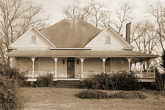 William Webb Farm House, ca. 1903, Georgia Highway 3, Sumter County, GA