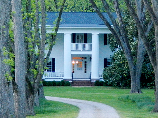 Reid-Glanton House (Hutchinson House), Route 109 and Patillo Road, LaGrange, GA, National Register