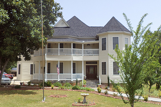 W.A. Harp House, ca. 1894, 206 Barnesville Street, Thomaston, GA, National Register