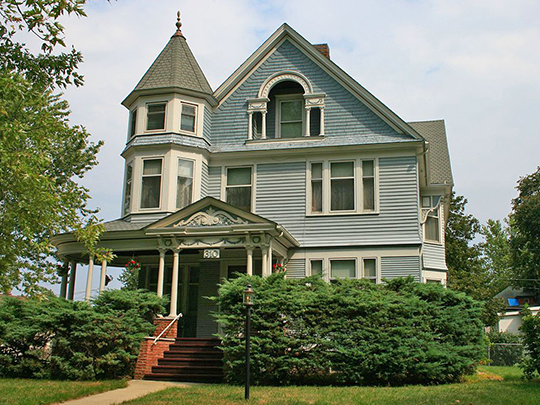 J. H. Riekenberg House, ca. 1898, 310 North Tama Street, Boone, IA, National Register