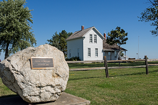 Catalpa (Wallace Farm; Henry A. Wallace Birthplace), Greenfield, IA, National Register