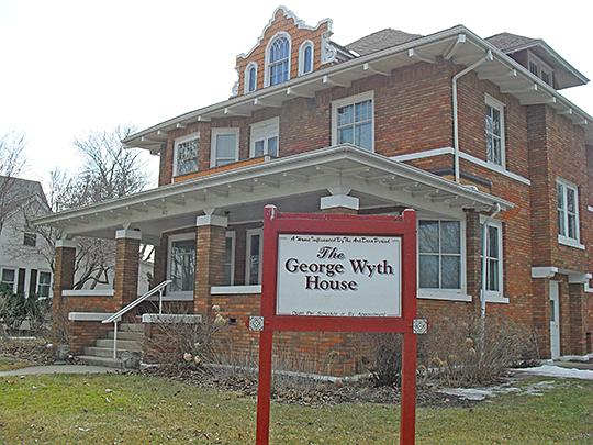 George Wyth House, ca. 1907, 303 Franklin Street, Cedar Falls, IA.