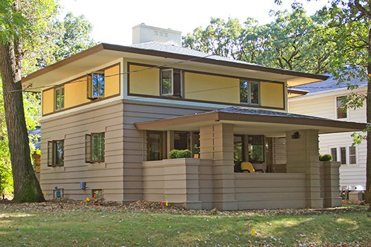 Curtis Yelland House, ca. 1910, 37 River Heights Drive, Mason City, IA, National Register