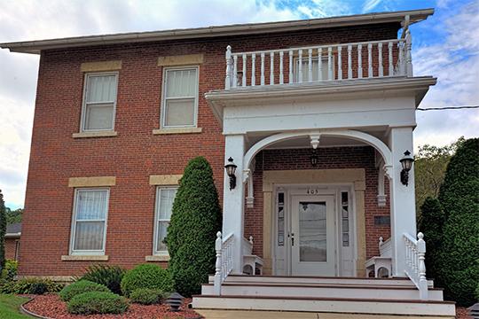 Timothy Davis House, ca. 1849, 405 1st Street, NW, Elkader, IA.