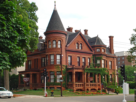Redstone, ca. 1888, 504 Bluff Street, Dubuque, IA, National Register