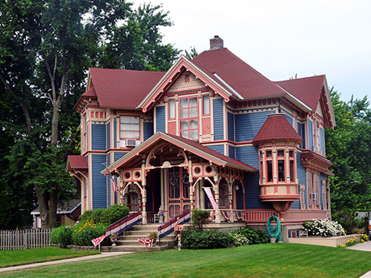 George E. Stubbins House, ca. 1886, 248 First Avenue SW, Britt, IA, National Register