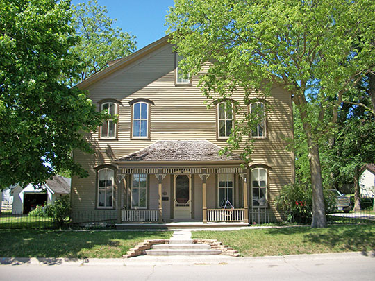 Stephen Harris Taft House, ca. 1864, 809 First Avenue North, Humboldt, IA.