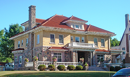 Leroy R. Willard House (Willard Mansion), ca. 1910, 609 West Main Street, Marshalltown, IA, National Register
