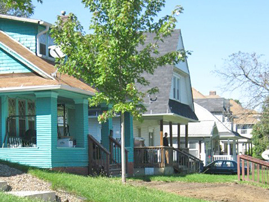 Homes in the Bates Park Historic District, Des Moines, IA, National Register