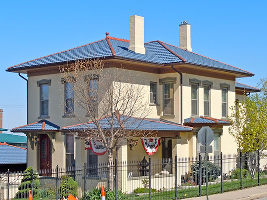 Wickham-De Vol House, ca. 1878, 332 Willow Avenue, Council Bluffs, IA, National Register