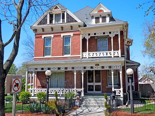 O. P. Wickham House, ca. 1882, 616 South 7th Street, Council Bluffs, IA, National Register