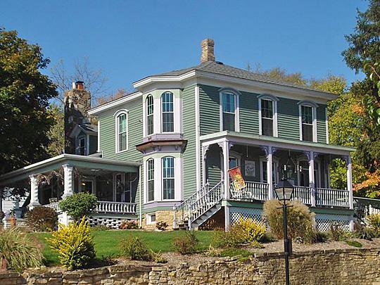 McCaffrey House, ca. 1870, 208 N. Cody Road, Le Clair, IA, National Register