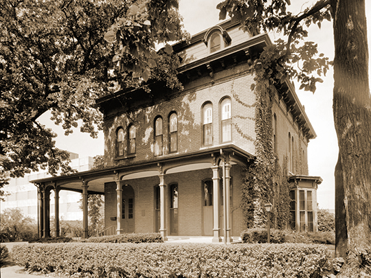 Swain-Vincent House, ca. 1871, 824 Third Avenue South, Fort Dodge, IA, National Register