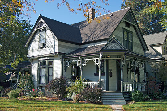 Anton Goreczky House, ca. 1900, 1601 North 7th Street, Boise, ID, National Register
