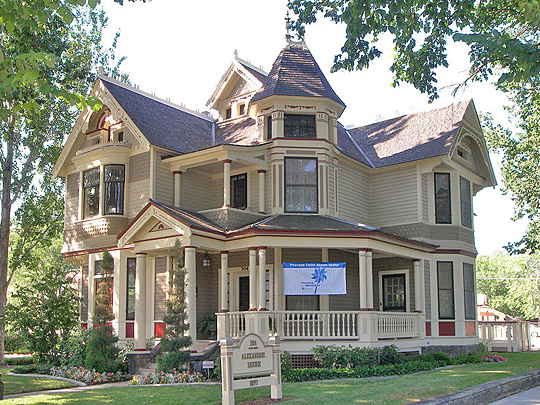 The Alexander House, ca. 1897, 304 W. State St, Boise, ID, National Register