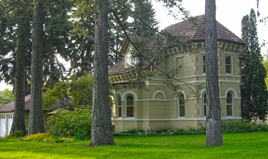 Mason Cornwall House, ca. 1889, 308 South Hayes Street, Moscow, ID, National Register