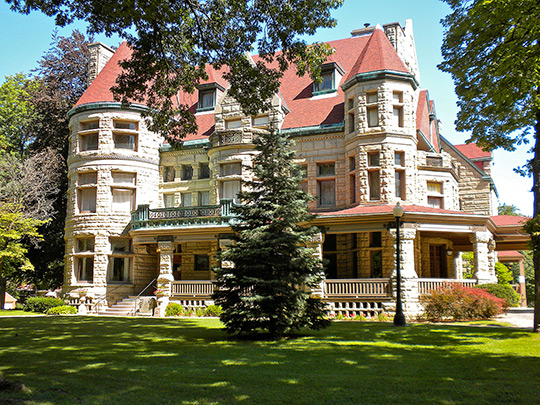 Richard F. Newcombe House, ca. 1891, 1601 Maine Street, Quincy, IL, National Register