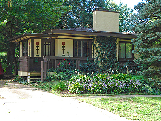 Wee Haven, ca. 1925, 1509 West Park Avenue, Champaign, IL, National Register