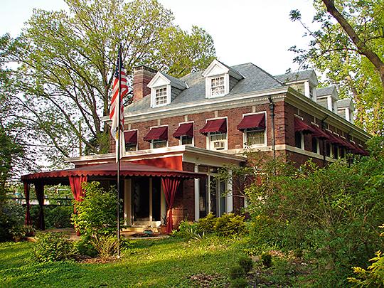 George and Elsie Mattis House, ca. 1893, 900 West Park Avenue, Champaign, IL, National Register