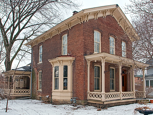 Clark R. Griggs House, ca. 1871, 505 West Main Street, Urbana, IL, National Register