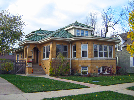 Herbert A. Dilg House, ca. 1925, 8544 Callie Avenue, Morton Grove, IL, National Register