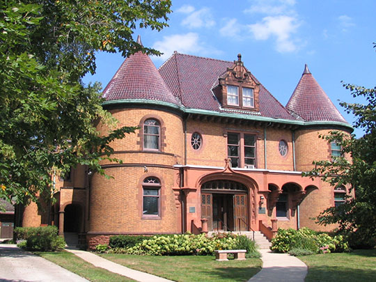 Charles Gates Dawes House, ca. 1894, 225 Greenwood Street, Evanston, IL, National Register