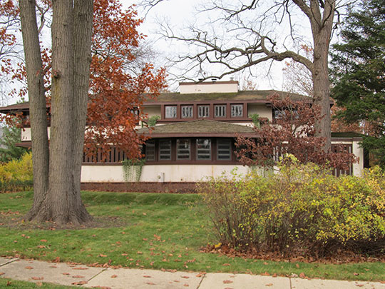 Hiram Baldwin House (Baldwin-Wackerie Residence), ca. 1905, 205 Essex Road, Kenilworth, IL, National Register