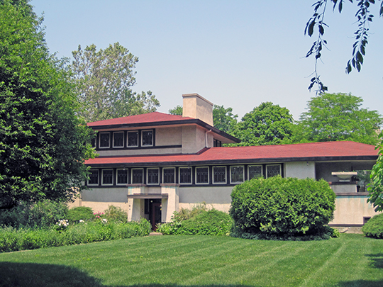 F. F. Tomek House (The Ship House), ca. 1906, 150 Nuttakk Road, Riverside, IL, National Register