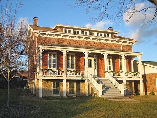 Joseph F. Glidden House, ca. 1861, 917n West Lincoln Highway, DeKalb, IL, National Regisgter