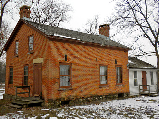 Durant House, ca. 1843, Dean Street near St. Charles, St. Charles Township, IL, National Register