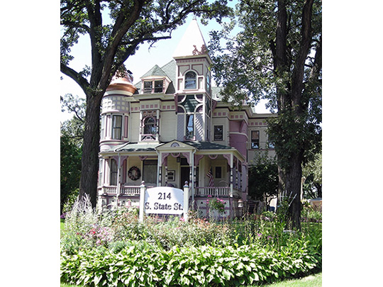 Ora Pelton House, ca. 1889, 214 South State Street, Elgin, IL, National Register