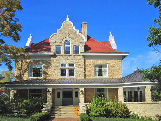 Elizabeth Place (Henry Bond Fargo House), ca. 1900, 316 Elizabeth Place, Geneva, IL, National Register
