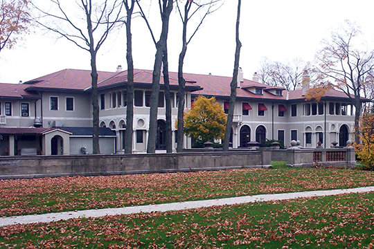 J. Ogden Armour Estate, 1500 West Kennedy Road, Lake Forest Academy, Lake Forest, IL, National Register