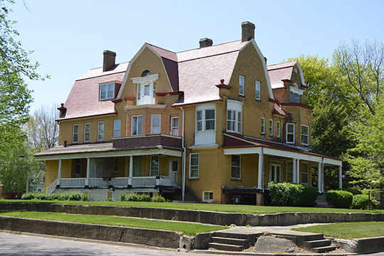 Stephan A. Foley House, ca. 1898, 427 Tremont Street, Lincoln, IL, National Register