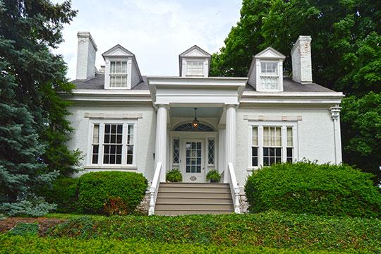 Lyman Trumbull House, ca. 1849, 1105 Henry Street, Alton, IL, National Historic Landmark