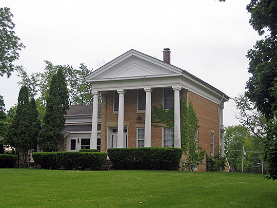 Count's House, ca. 1860, 3803 Waukegan Road, McHenry, IL, National Register
