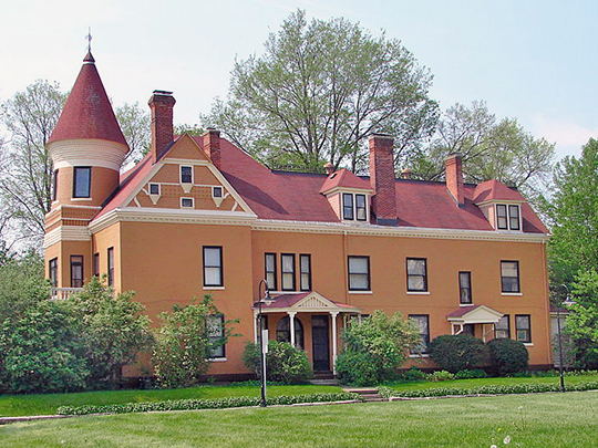 Connor House, ca. 1876, 702 20th Street, Rock Island, IL.