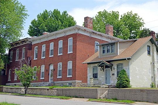 Homes on Charles Street, Belleville Historic District, Belleville, IL, National Register