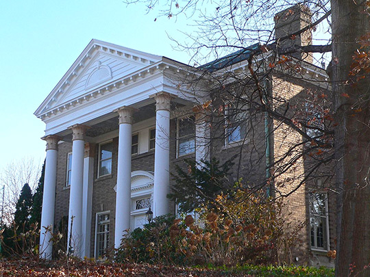 Carl Herget Mansion, ca. 1912, 420 Washington Street, Pekin, IL, National Register