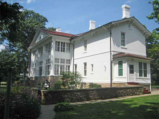 Colonel Edward N. Kirk House (Paul W. Dillon House), ca. 1857, 1005 East 3rd Street, Sterling, IL, National Register
