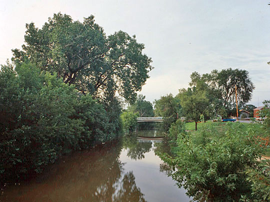 Illinois and Michigan Canal at Lockport City